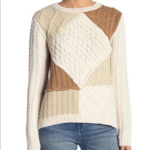 Desigual Cable Knit Sweater